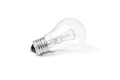 Lampe à incandescence nouvelle Photographie stock