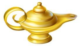 Lampe à pétrole illustration de vecteur