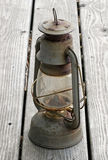 Lampe à pétrole antique Photographie stock