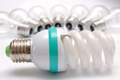 Lampe économiseuse d'énergie images stock