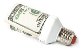 Lampe économiseuse d'énergie Image stock