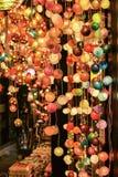 Lampe élégante pour la couleur claire Photos libres de droits