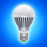 Lampe électrique économiseuse d'énergie de LED illustration libre de droits