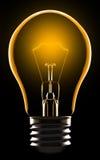 Lampe électrique Photo stock