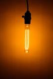 lampe électrique d'ampoule de vintage Images stock