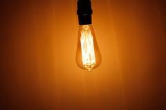 lampe électrique d'ampoule de vintage Photographie stock