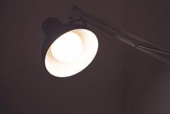 Lampe aboutie Image libre de droits