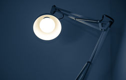 Lampe aboutie Photo stock