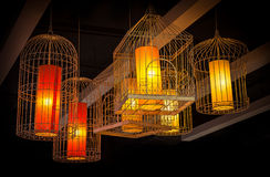 Lampe accrochante Images stock