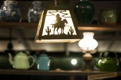 lampe accrochante de ‡ de ¹ d'à Image libre de droits