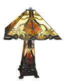 Lampe antique de Leadlight Image libre de droits