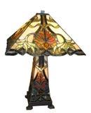 Lampe antique de Leadlight Image libre de droits