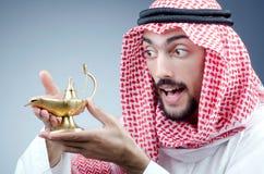 Lampe arabe et antique photo libre de droits
