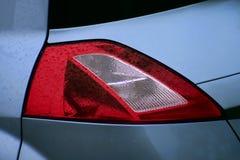 Lampe arrière de Renault Megane II Photographie stock