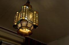 Lampe asiatique Image libre de droits