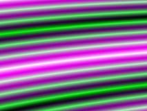 Lampe au néon verte et pourprée Images libres de droits