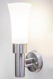 Lampe auf einem Wandglänzen Lizenzfreies Stockbild