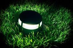 Lampe auf Rasen bround Lizenzfreie Stockfotografie