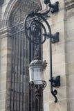 Lampe auf Rathaus; Bordeaux Lizenzfreie Stockfotos