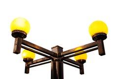 Lampe auf weißem Hintergrund Lizenzfreie Stockfotos
