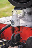 Lampe avant de moteur de train photo libre de droits