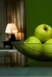 Lampe avec des fruits Photographie stock libre de droits