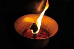 Lampe bouddhiste Images libres de droits