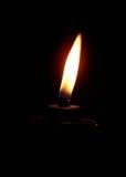 Lampe brûlante Photo libre de droits