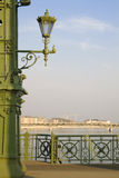 Lampe in Budapest Lizenzfreie Stockfotografie