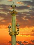 Lampe carrée de Concorde Image libre de droits