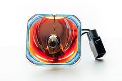 Lampe cassée de projecteur Photos libres de droits