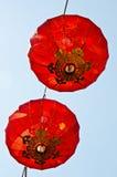 Lampe chinoise de lanterne d'an neuf Photo libre de droits