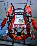 Lampe chinoise de plafond images libres de droits