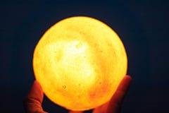 Lampe circulaire photographie stock libre de droits