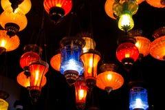 Lampe colorée Photo stock