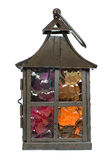 Lampe décorative de bougie Image stock