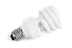 Lampe d'énergie inférieure Images libres de droits