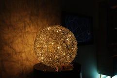 Lampe d'étage - FIL DE FER dans l'expo Italie Images libres de droits