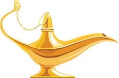Lampe d'Aladdin illustration libre de droits