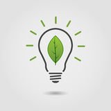 Lampe d'Eco Image stock
