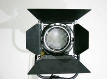 Lampe d'endroit de Fresnel de studio photographie stock libre de droits