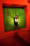 Lampe d'escalier d'art déco Photographie stock libre de droits