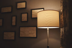 Lampe d'hôtel Images libres de droits