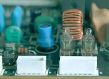 Lampe d'ordinateur, circuit Image libre de droits