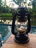 Lampe d'ouragan Images libres de droits