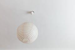 Lampe dans la chambre à coucher Photographie stock libre de droits