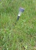 Lampe dans une pelouse Photo libre de droits