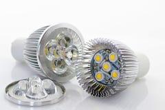 lampe de 1W DEL avec le systeme optique Images libres de droits