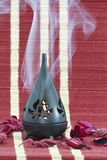 Lampe de bougie d'arome Image libre de droits
