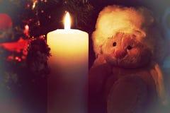 Lampe de bougie de jouet Image stock